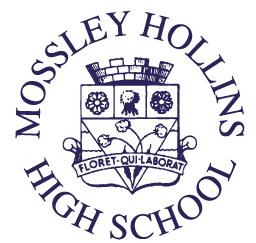 Mossley Hollins Logo